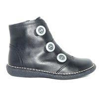 Bran'S - Bottillons femme chaussures hiver Cuir noir zip pointure 37