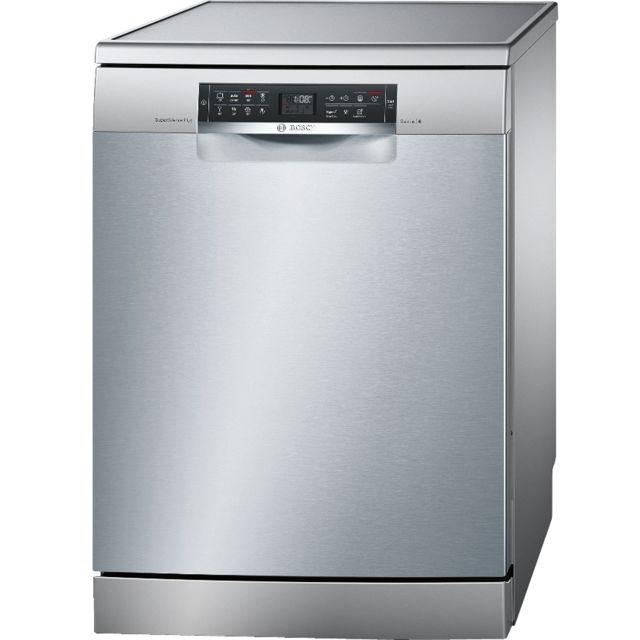 Bosch lave-vaisselle 60cm 14c 40db a++ pose libre inox - sms68ti01e