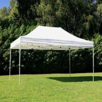 Mobeventpro - Tente pliante 3x4,5m 300g/m² 40MM Blanche