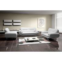Relax design - Fauteuil Nena blanc sofa divan