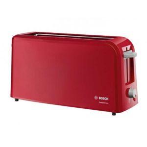 Bosch grille pain compact 1 fente 980w rouge - Grille pain rouge pas cher ...