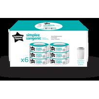TOMMEE TIPPEE - Recharge SIMPLEE multipack X6
