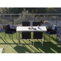 table de jardin aluminium et composite - Achat table de jardin ...