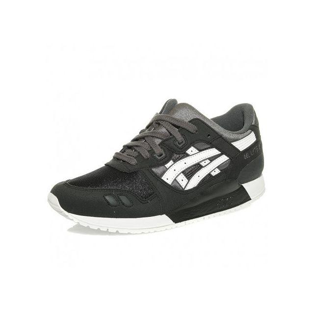 3e2f6e850a996 Asics - Chaussures Gel Lyte Iii Noir Homme Garçon - pas cher Achat ...