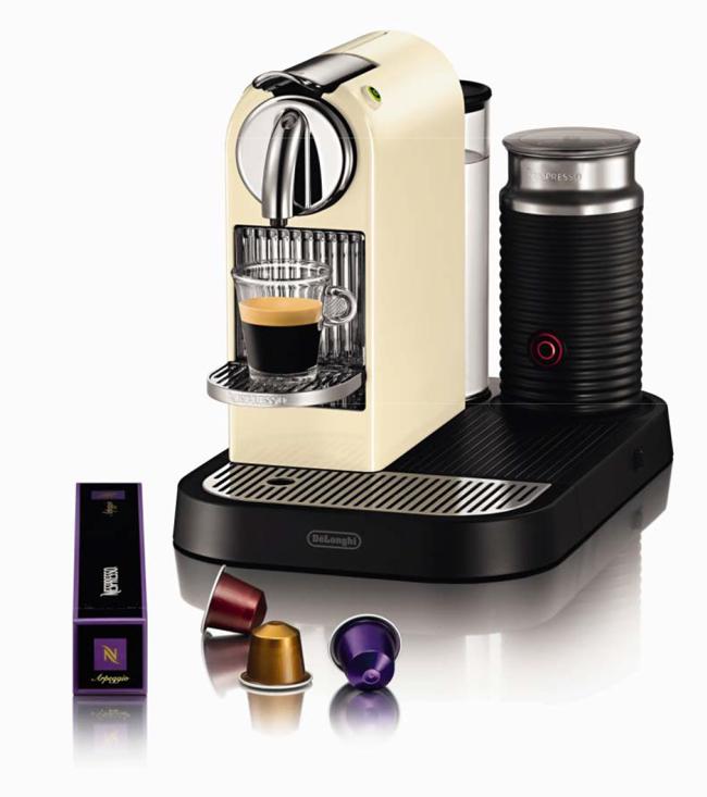 destockage de 39 longhi machine caf nespresso citiz milk en265cwae pas cher achat vente. Black Bedroom Furniture Sets. Home Design Ideas
