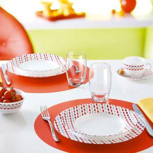 luminarc sixties service vaisselle 19 pi ces pas cher achat vente service de vaisselle. Black Bedroom Furniture Sets. Home Design Ideas