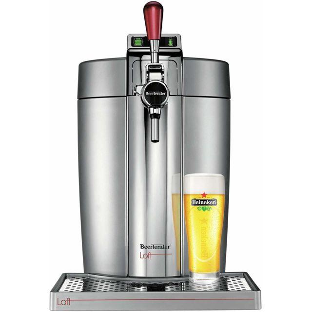 Krups Machine distributeur de bière tireuse de 5L 70W gris
