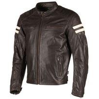 Segura - blouson moto Retro cuir homme Vintage toutes saisons marron Scb893 3XL