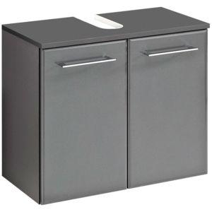 meuble sous lavabo 2 portes longueur 60 cm bradley pas cher achat vente meubles de salle de. Black Bedroom Furniture Sets. Home Design Ideas