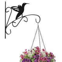 suspension pot fleur achat suspension pot fleur pas cher rue du commerce. Black Bedroom Furniture Sets. Home Design Ideas