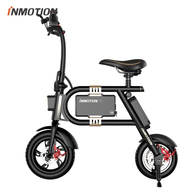inmotion mini scooter lectrique p1f noir pas cher achat vente v hicule lectrique pour. Black Bedroom Furniture Sets. Home Design Ideas