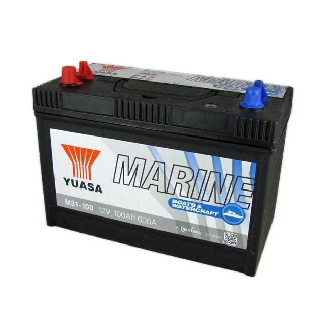 yuasa batterie marine 12v 100ah c20 pas cher achat vente batteries rueducommerce. Black Bedroom Furniture Sets. Home Design Ideas