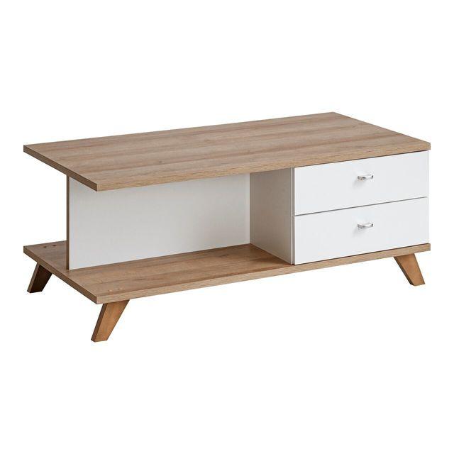 Dusine Sweden grande Table Basse style scandinave