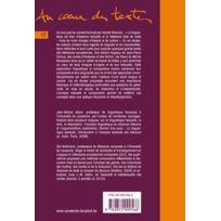 Academia - le texte littéraire ; pour une approche interdisciplinaire