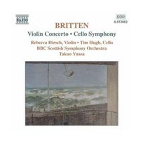 Naxos - Britten : Concerto pour violon - Symphonie pour violoncelle