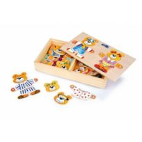 Small Foot Design - Puzzle Ours Maman Et Papa