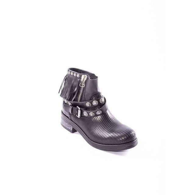 Femme Mimmu Pas Cher Achat Boots Vente Franges pPqwYRp