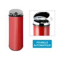 FRANDIS - Poubelle Automatique Sensor - rouge 45L