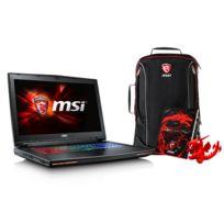 MSI - GT72S 6QF-089FR Dominator Pro G - Noir + Pack Spécial Printemps