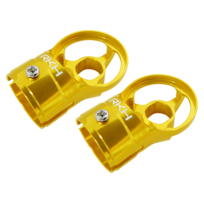 RAKONHELI - Support de moteur alu jaune Pod 250 - Rakon Heli