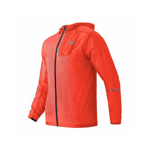 c1a501cf654e New Balance - Veste Lite Packable coupe-vent orange - pas cher Achat ...