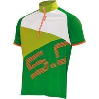 Briko - 5.0 Mtb Jersey Man Vert Et Blanc Vélor vélo été