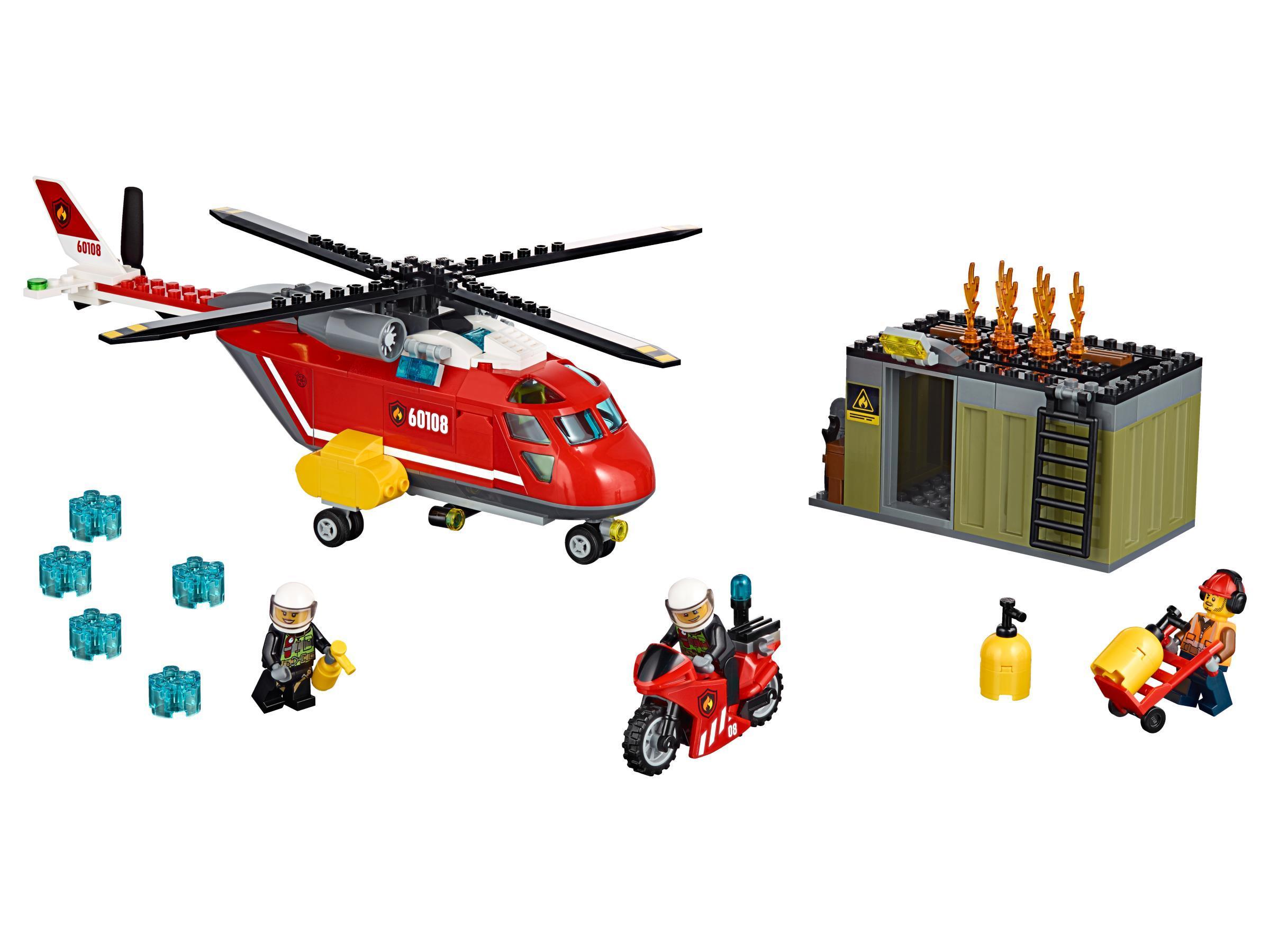L'unité de secours des pompiers - 60108