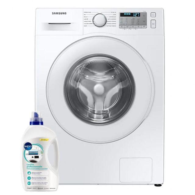 Samsung Lave-linge frontal 8kg A+++ 1400trs/min EcoBubble Machine à laver Hublot