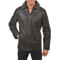 Arturo - Blouson cuir Couleur - marron, Taille Homme - S