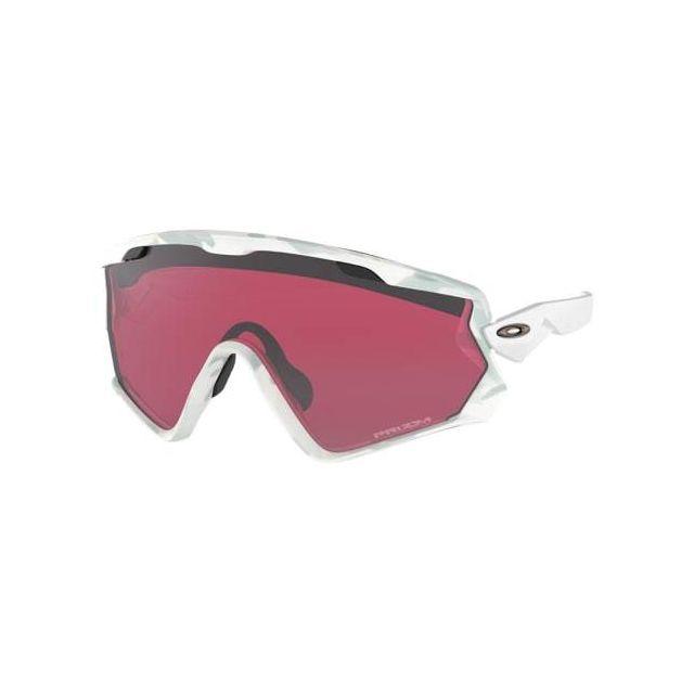 78671923eaa956 Oakley - Lunettes Oakley Wind Jacket 2.0 Snow Camo avec verres Prizm Snow  Black Iridium