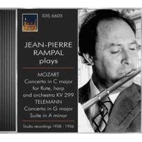 Idis - Wolfgang Amadeus Mozart | Georg Philipp Telemann - Jean Pierre Rampal plays : Concerto pour flûte et harpe K.299 | Concerto en sol majeur