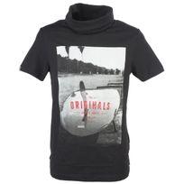 Jack&JONES - Tee shirt manches courtes Jack and jones Coaster pirate blk mc tee Noir 78634