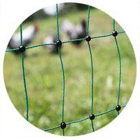 AKO AGRARTECHNIK - Filet à volailles électrifiable 25m simple pointe