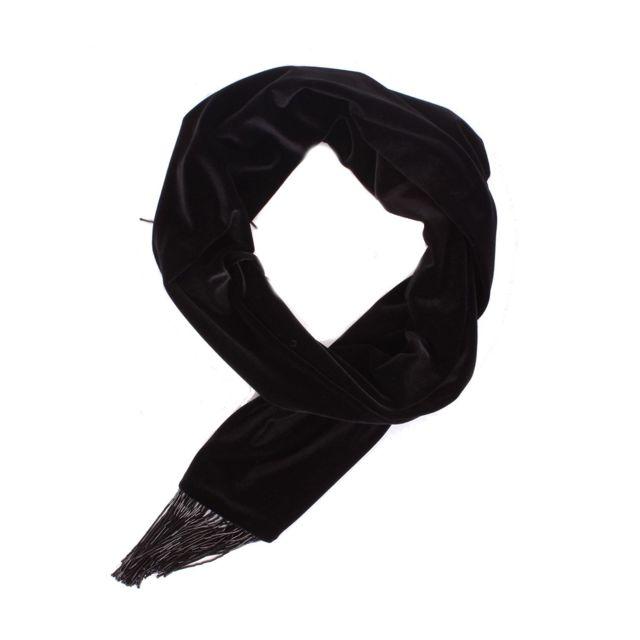 Blugirl Femme 821BLACK Noir Polyester ÉCHARPE