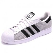 Adidas originals - Chaussures Superstar Gris Homme Adidas