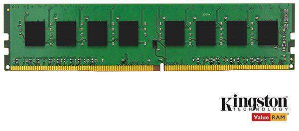 KINGSTON Mémoire ValueRAM 16 Go 2133MHz DDR4 Non-ECC CL15 DIMM Mémoire ValueRAM 16 Go 2133MHz DDR4 Non-ECC CL15 DIMM