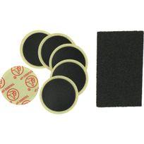 Flauraud - Nécessaire réparation 6 patches autocollants + 1 râpe
