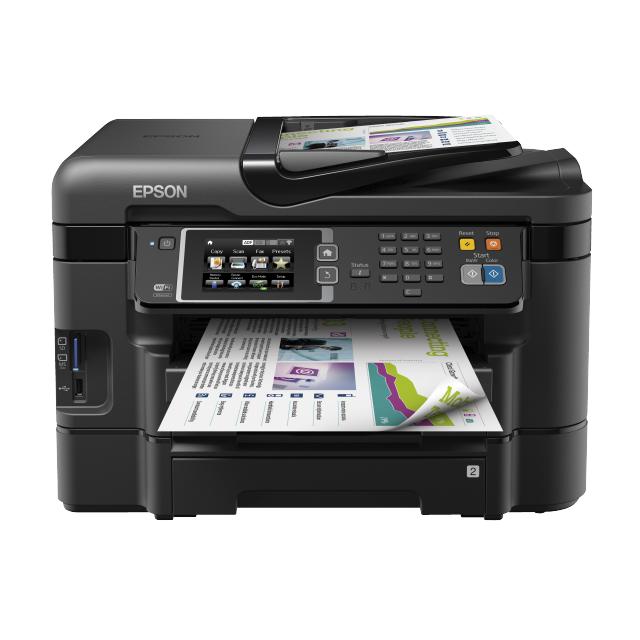 EPSON Imprimante multifonction 4-en-1 WORKFORCE WF-3640DTWF