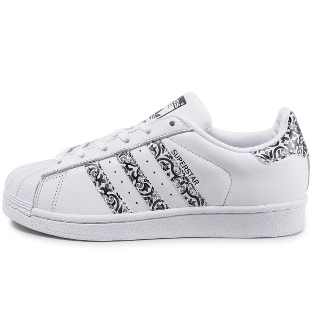 Adidas originals - Superstar The Farm Company F Blanc Noir