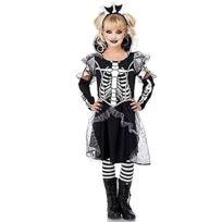 Leg Avenue - C4909303007 - DÉGUISEMENT Pour Enfant - ModÈLE C49093 - Costume Enfant Princesse Squelette Costume - Taille L - Noi