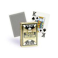Copag - Cartes Texas Hold'em Gold noir