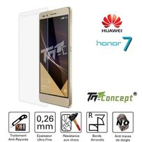 Tm Concept - Huawei Honor 7 - Vitre de Protection Crystal