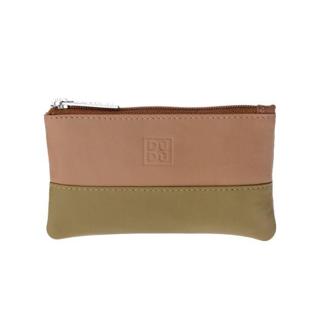 5553bf2f5221 Dudu - Trousse porte-clés coloré en cuir pour homme et femme avec zip  Safari - pas cher Achat   Vente Porte-clés - RueDuCommerce