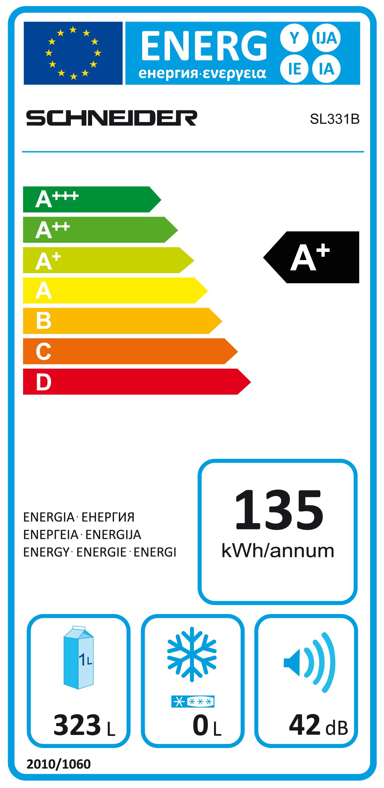 Schneider sl331ix r frig rateur une porte tout utile 323 for Froid statique ou brasse