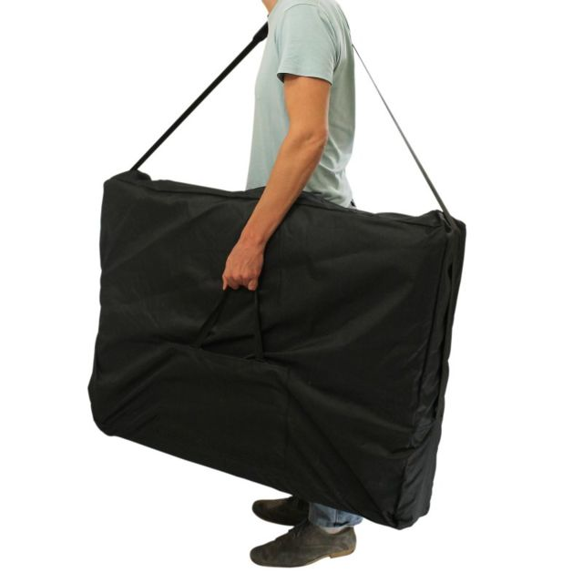 vivezen housse de transport noire pour table de massage pas cher achat vente chaises et. Black Bedroom Furniture Sets. Home Design Ideas