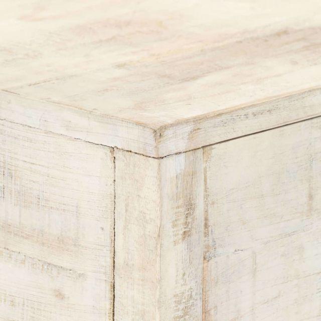 Icaverne - Tables d'appoint gamme Table console 120 x 35 x 75 cm Bois de manguier massif