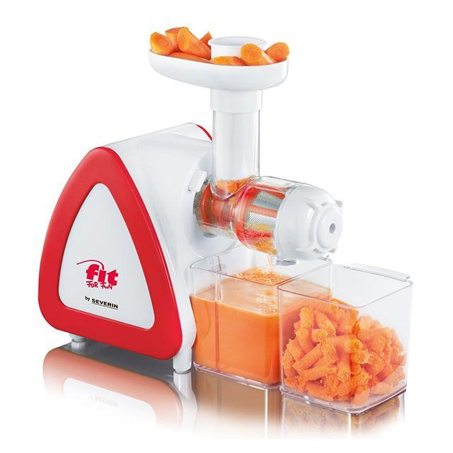 SEVERIN presse fruits 150w rouge - es3568