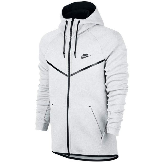 c232f0244c Nike - Sweat Sportswear Tech Fleece Windrunner - 805144-100 - pas cher Achat  / Vente Sweat homme - RueDuCommerce