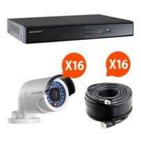 HIKVISION - HIK-16BUL-THD - Kit vidéo surveillance Turbo HD 16 caméras bullet N°2