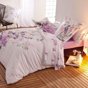 tradition des vosges soldes parure housse de couette milie satin 80 fils 1 housse couette. Black Bedroom Furniture Sets. Home Design Ideas